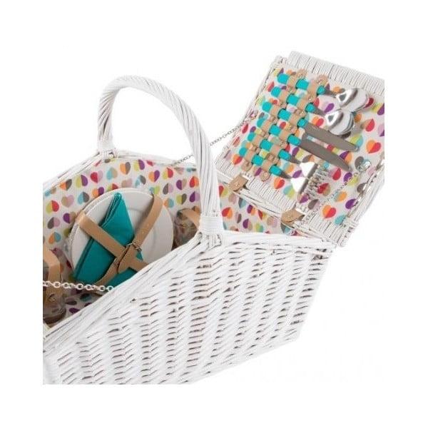 Coș picnic pentru 4 persoane Navigate Confetti