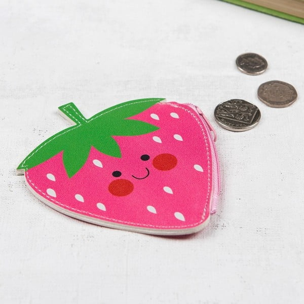 Taštička na drobné Rex London Hello Strawberry