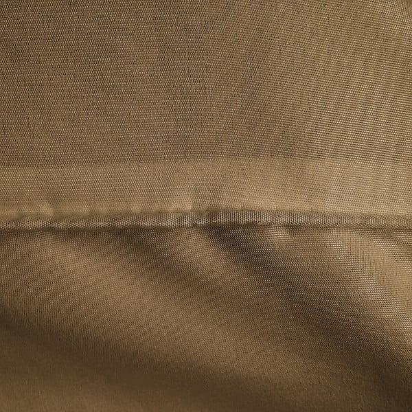 Hnědé povlečení z mikroperkálu na dvoulůžko Sleeptime Montesito,200x200cm
