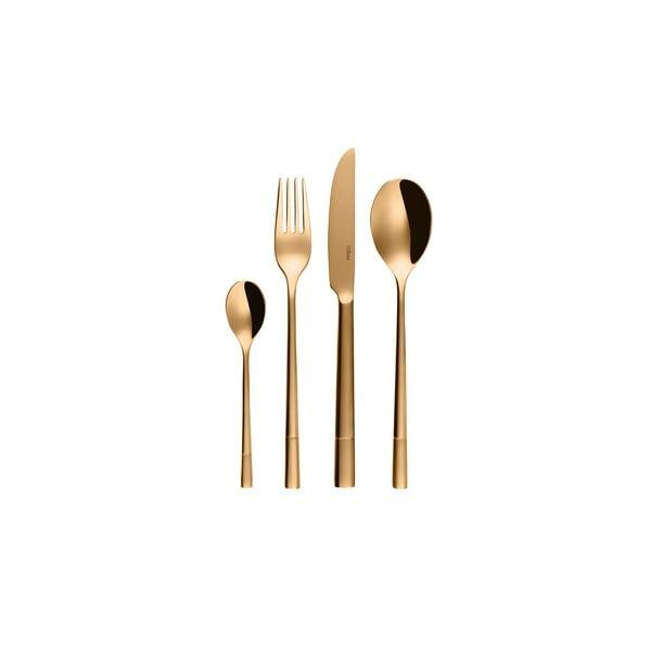 Sada 24 nerezových příborů Sola Luxus Gold