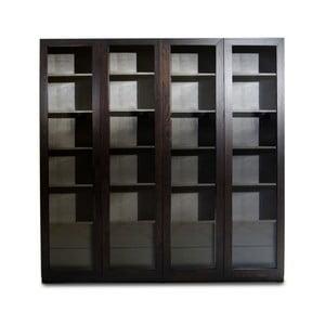 Knihovna z borovicového dřeva Netra