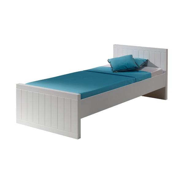 Białe łóżko dziecięce Vipack Robin, 90x200 cm
