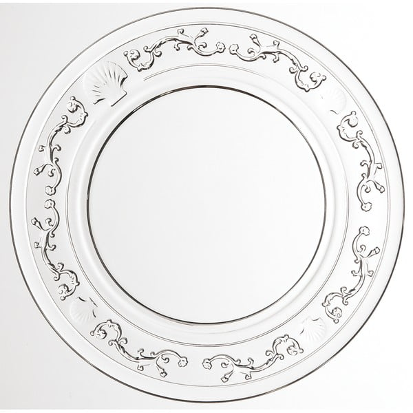 Skleněný talíř La Rochére Versailles, ⌀25cm