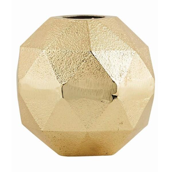 Váza Geometry Gold