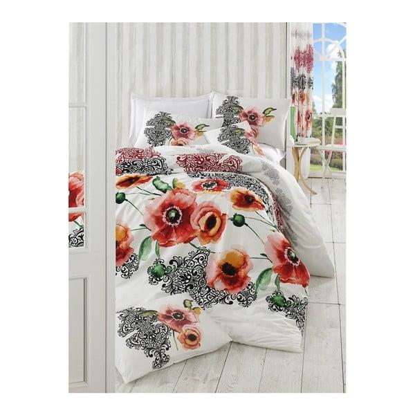 Lenjerie de pat cu cearșaf Merve, 200 x 220 cm