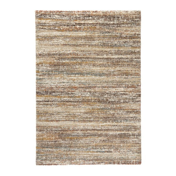 Covor Mint Rugs Chloe Motted, 133 x 195 cm, maro deschis