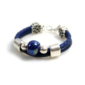 Náramek Ring Stone, modrý