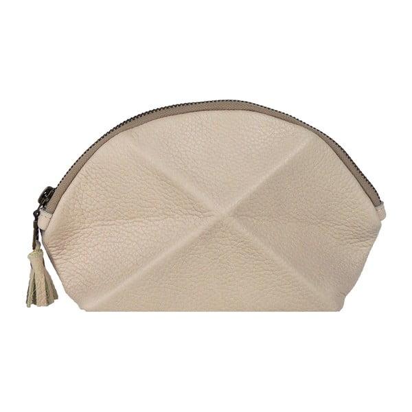 Psaníčko/kosmetická taška Pyramid, krémová