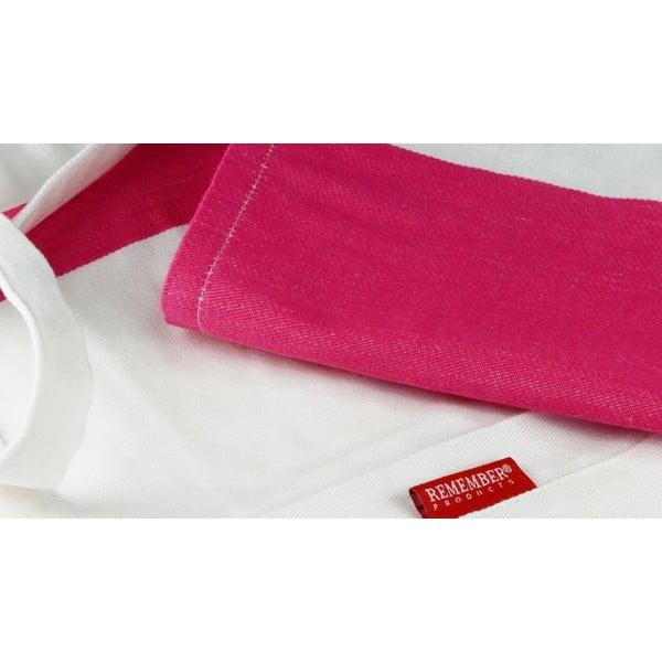 Zástěra Remember Pink&White