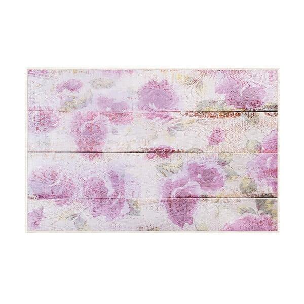 Růžový koberec Oyo home Romantic, 140x220cm