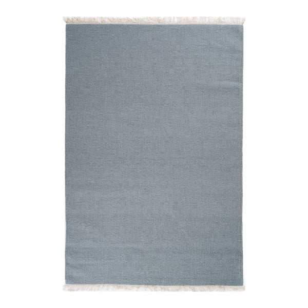 Vlněný koberec Rainbow Teal, 140x200 cm