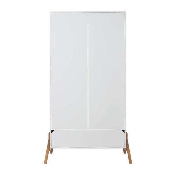 Biała szafa 2-drzwiowa BELLAMY Lotta