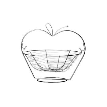 Fructieră metalică Unimasa Orchard Apple imagine