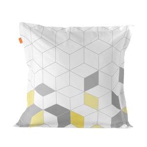 Bavlněný povlak na polštář Blanc Symmetry Triangles, 60 x 60 cm