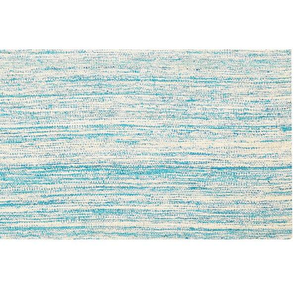 Ručně tkaný koberec Sari Silk Sky Blue, 150x240 cm