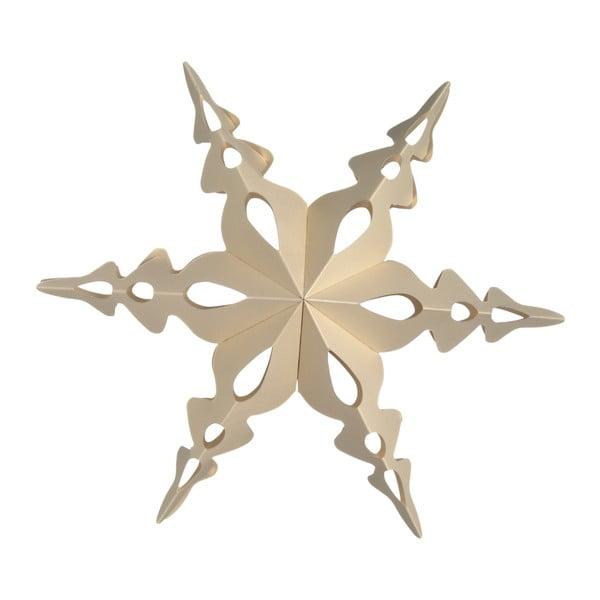Set šesti skládacích ozdob Hvězdy, natural, 30 cm