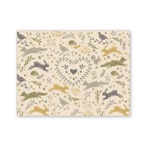 Skleněné prkénko Cooksmart England Foxy, 30 x 40 cm
