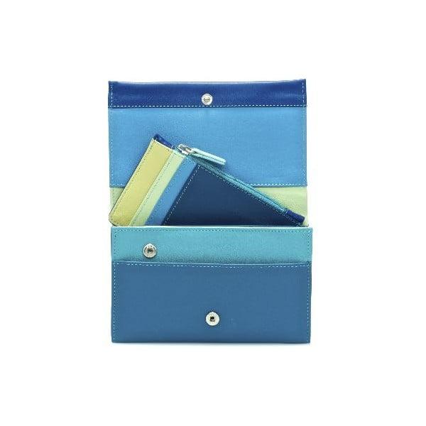 Peněženka a pouzdro na kreditní karty Blue