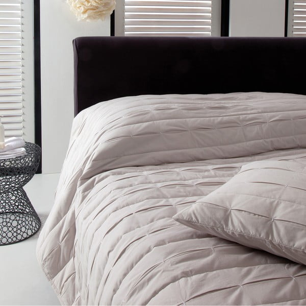 Přehoz přes postel Ritual Oyster, 270x270 cm