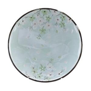 Světle zelený talíř Tokyo Design Studio Cosmos, ø22,5cm