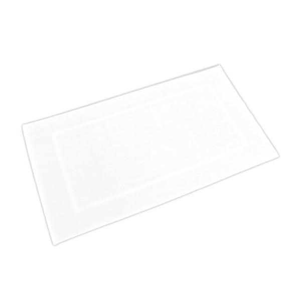 Koupelnová předložka Ziczac 60x110 cm, bílá
