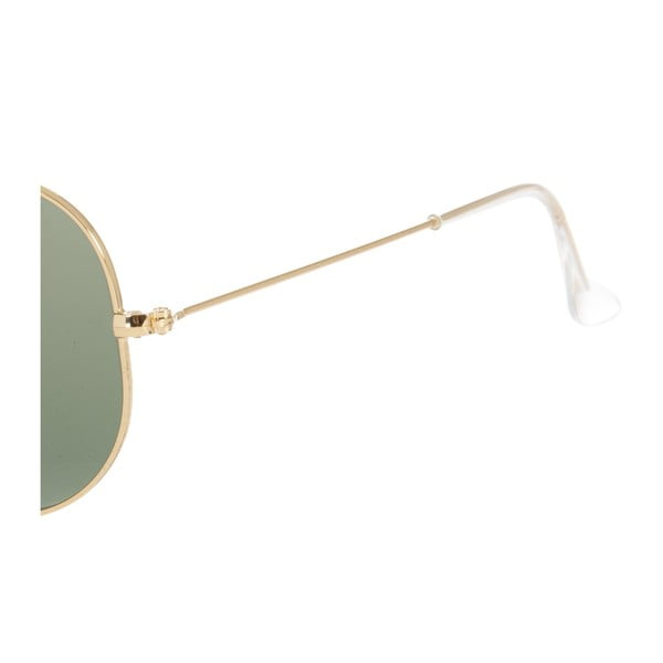 Ochelari de soare unisex Ray-Ban 3025 Gold/Green 58 mm