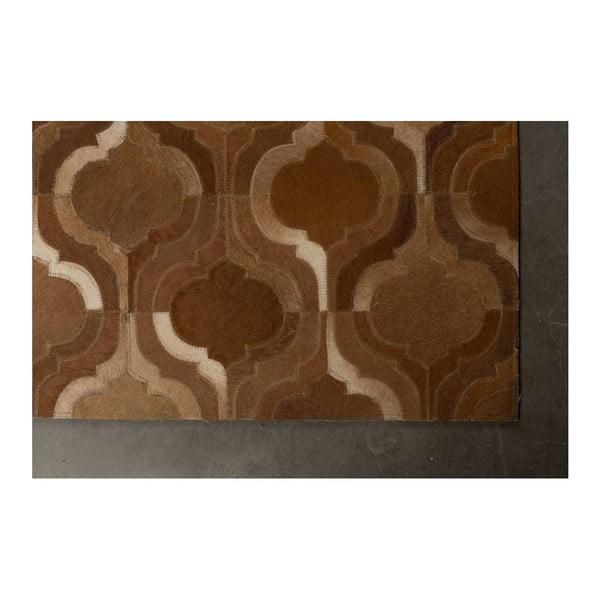 Světle hnědý ručně vyráběný koberec Dutchbone Bawang, 170x240cm