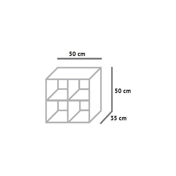 Dělená skříňka Fam Fara, 50x50 cm