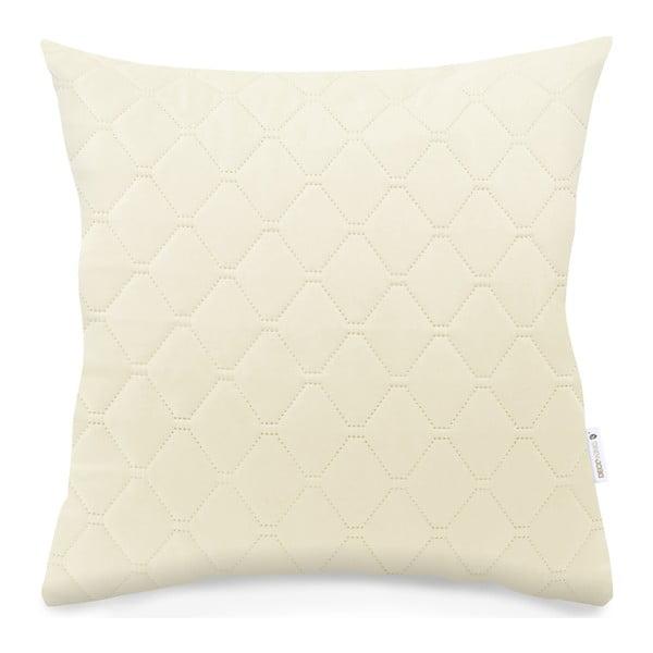 Jasnobeżowa poszewka na poduszkę z mikrowłókna DecoKing Axel, 40x40 cm