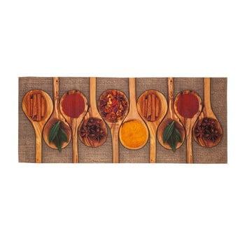 Covor de bucătărie foarte rezistent Floorita Spices, 60x150cm de la Floorita