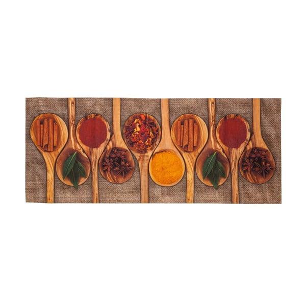 Spices fokozottan ellenálló konyhai szőnyeg, 60 x 150 cm - Floorita