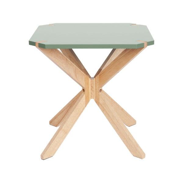 Mätovozlený príručný stolík Leitmotiv Mister, 45 x 45 cm