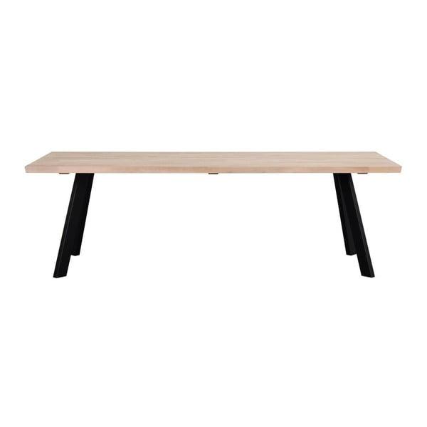 Dubový jídelní stůl Rowico Freddie, délka 240 cm
