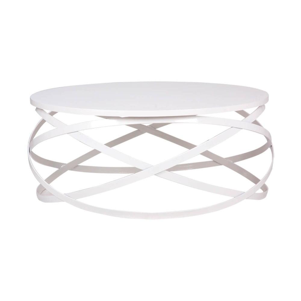 Bílý konferenční stolek sømcasa Darius