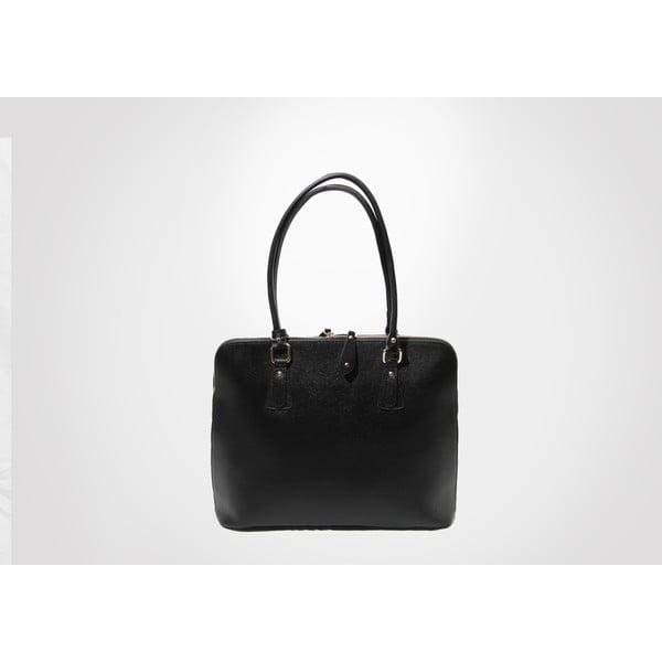 Kožená kabelka Madlene, black
