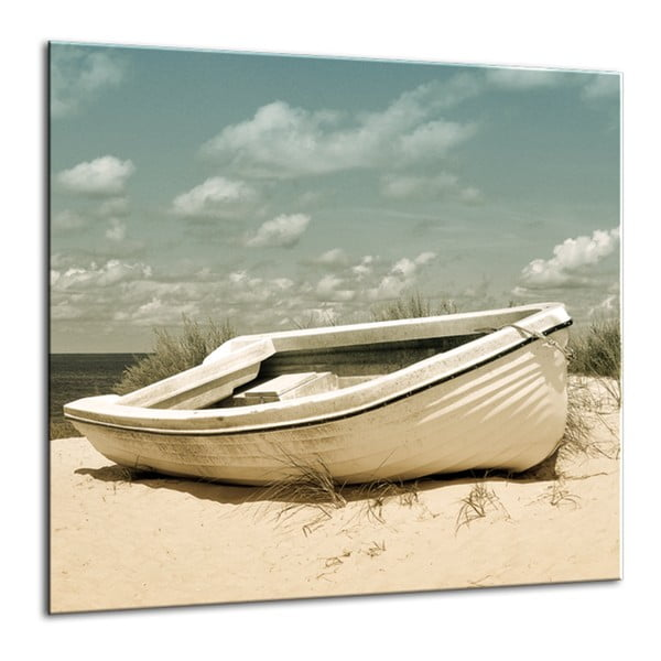 Glasspik Harmony Dunes II fali kép, 30 x 30 cm - Styler