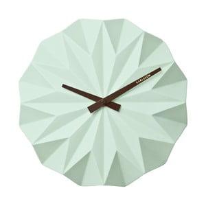 Hodiny Present Time Origami, mint