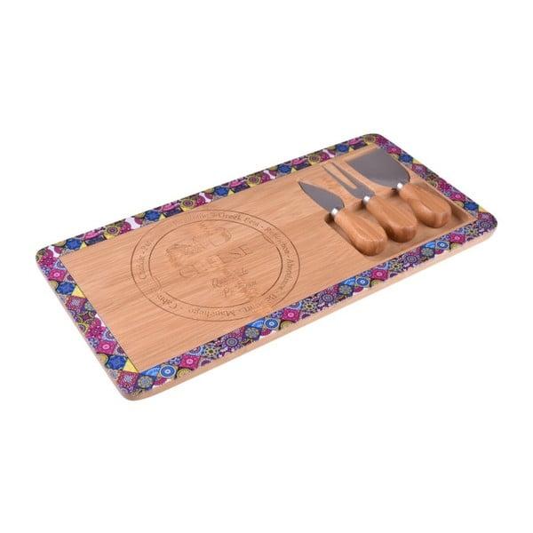 Bambusový set na servírovaní sýra Bambum Nirvana Hima