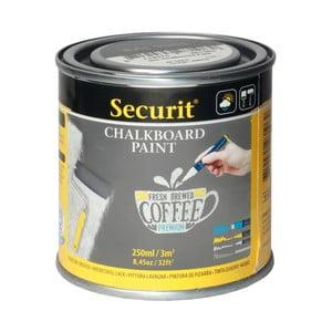 Šedá tabulová barva na vódní bázi Securit® Chalkboard, 250 ml