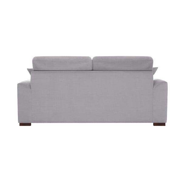 Canapea cu 3 locuri Jalouse Maison Irina, gri deschis