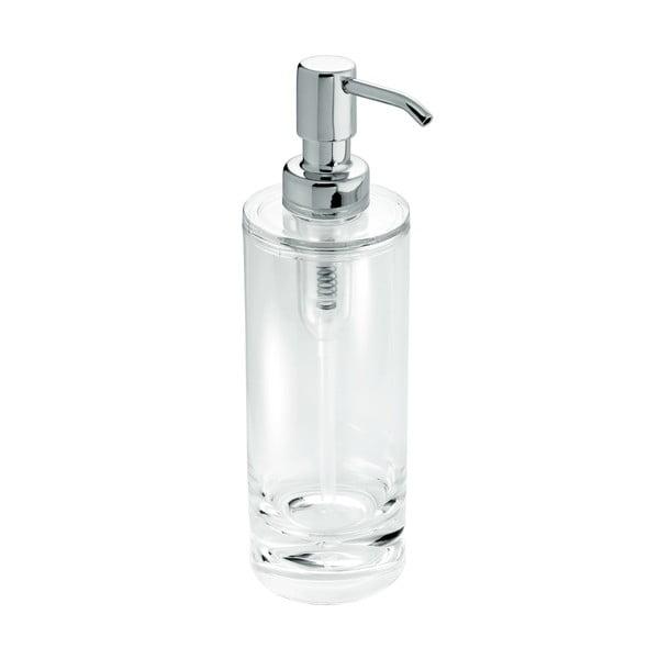 Transparentní dávkovač mýdla s pumpičkou iDesign Eva