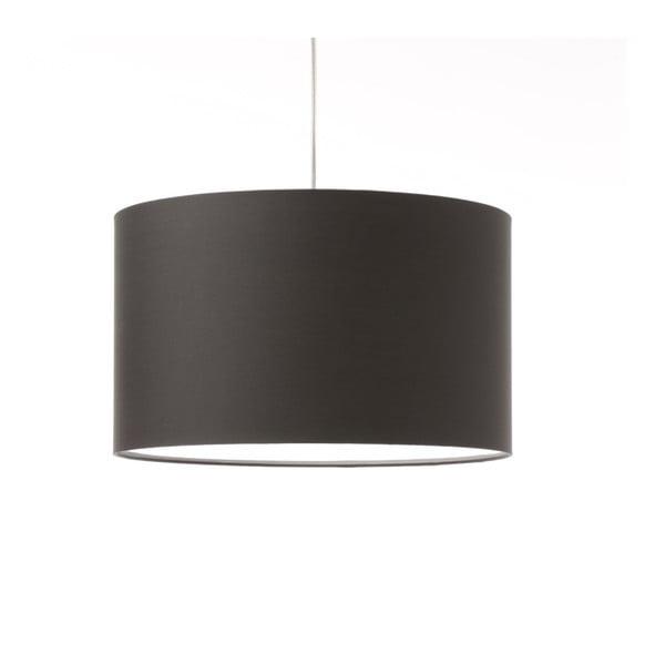 Tmavě šedé stropní světlo Artist, variabilní délka, Ø 42 cm