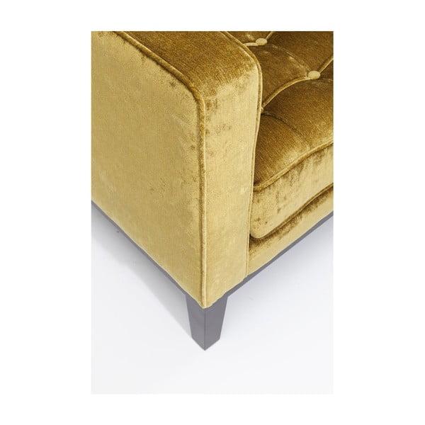 Žluté křeslo Kare Design Mirage