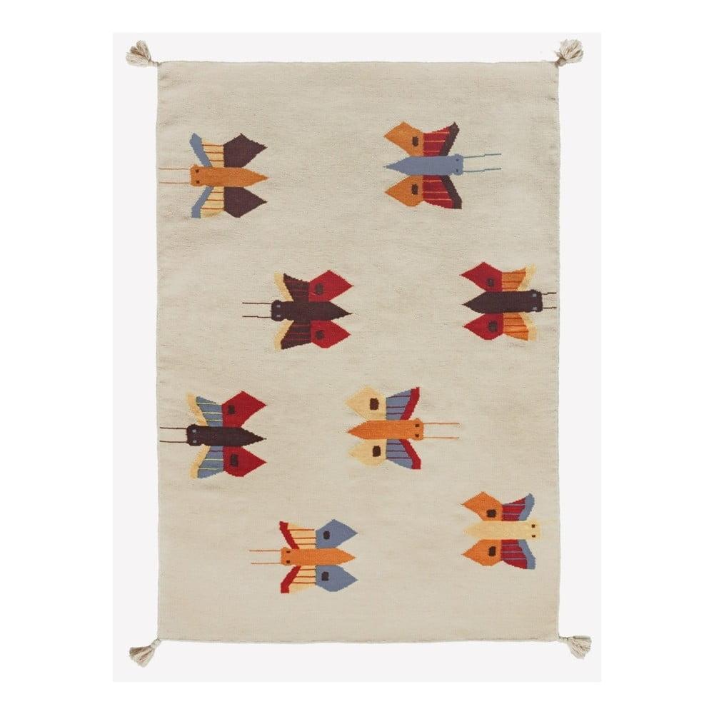 Koberec Art For Kids Butterflies, 110 x 160 cm