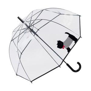 Transparentní deštník Cute Dog