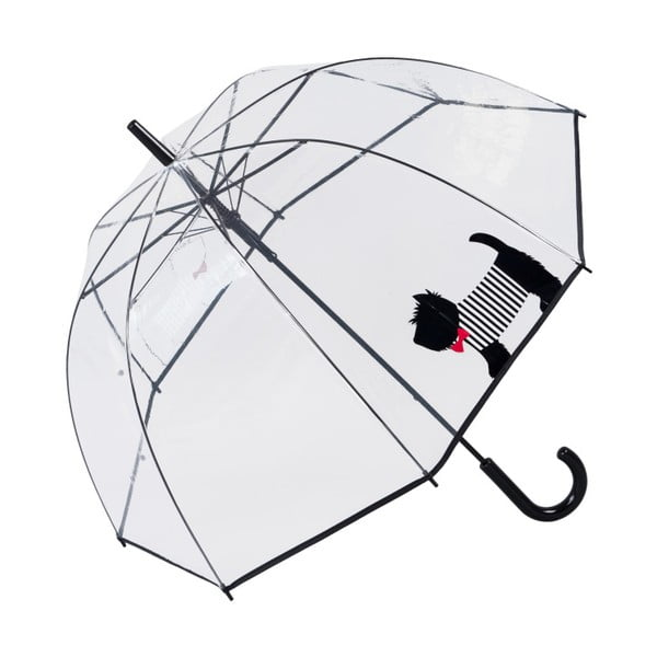 Birdcage Cute Dog átlátszó esernyő, ⌀ 85 cm -Ambiance