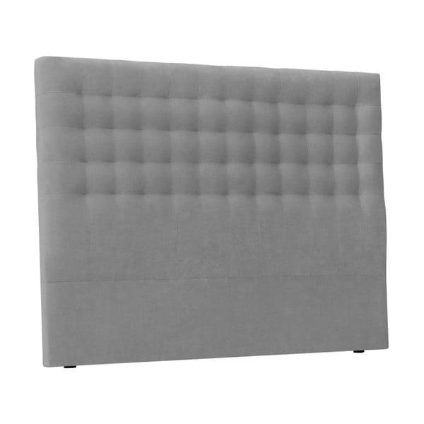 Světle šedé čelo postele Windsor & Co Sofas Nova, 160 x 120 cm