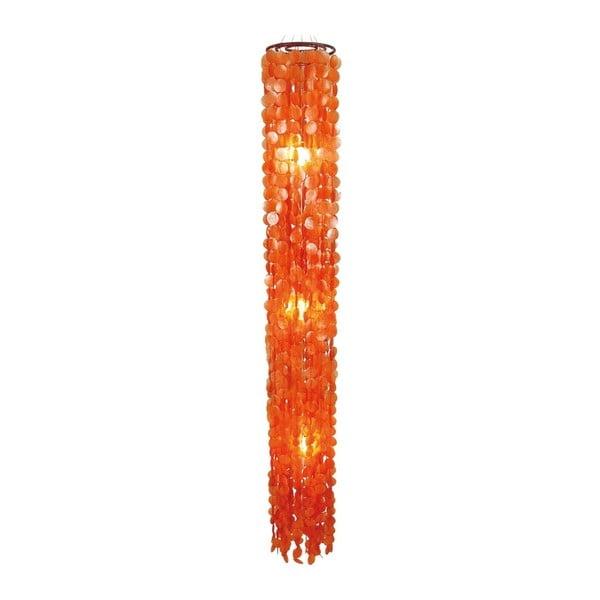 Oranžové stropní světlo Naeve Spinnwebe