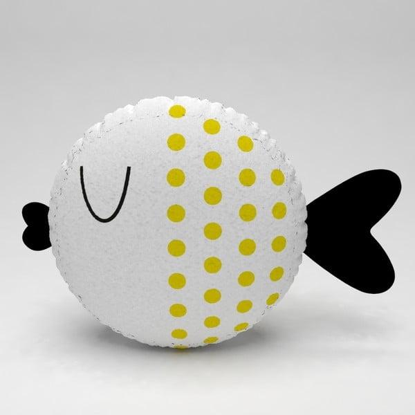 Detský vankúšik OYO Kids Fish With Yellow Dots