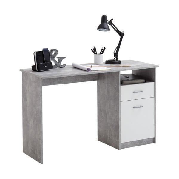 Šedý pracovní stůl 13Casa Brio